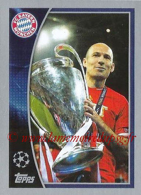 2015-16 - Topps UEFA Champions League Stickers - N° 613 - FC Bayern Munich 2012-13 (UEFA Champions League Winners)