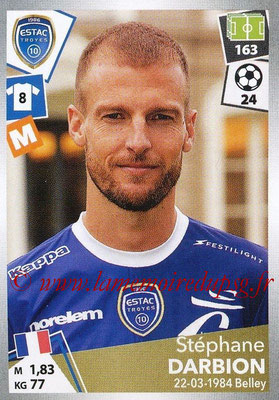 2017-18 - Panini Ligue 1 Stickers - N° 506 - Stéphane DARBION (Troyes)