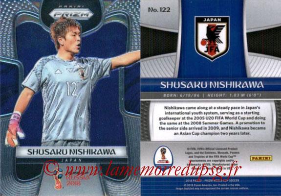 2018 - Panini Prizm FIFA World Cup Russia - N° 122 - Shusaku NISHIKAWA (Japon)
