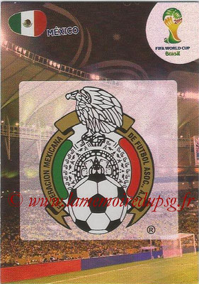 2014 - Panini FIFA World Cup Brazil Adrenalyn XL - N° 241 - Logo Mexique