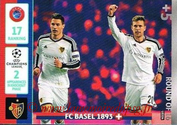 2014-15 - Adrenalyn XL champions League Update edition N° UE004 - FC Bale (Round of 16)