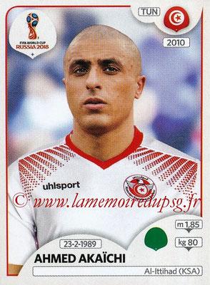 2018 - Panini FIFA World Cup Russia Stickers - N° 571 - Ahmed AKAÏCHI (Tunisie)