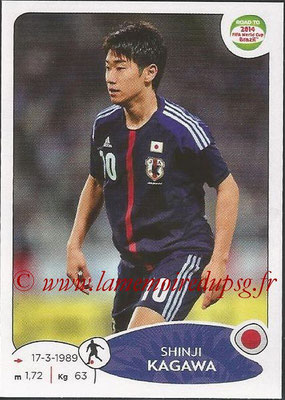 2014 - Panini Road to FIFA World Cup Brazil Stickers - N° 406 - Shinji KAGAWA (Japon)