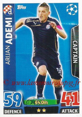 2015-16 - Topps UEFA Champions League Match Attax - N° 423 - Arijan ADEMI (GNK Dinamo Zagreb) (Captain)