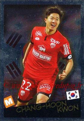 2017-18 - Panini Ligue 1 Stickers - N° 532 - Chang-Hoon KWON (Dijon + Corée du Sud) (Planète Ligue 1)