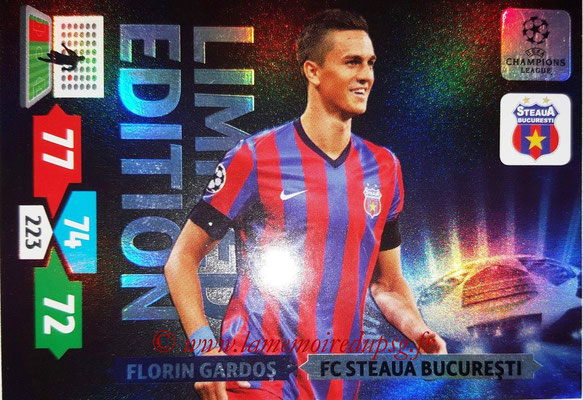 2013-14 - Adrenalyn XL champions League N° LE51 - Florin GARDOS (FC Steaua Bucarest) (Limited Edition)