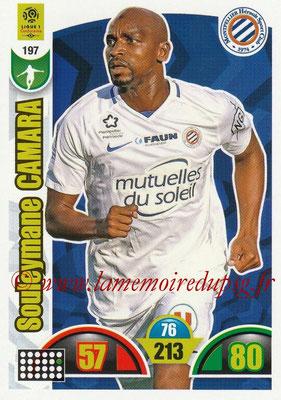 2018-19 - Panini Adrenalyn XL Ligue 1 - N° 197 - Souleymane CAMARA (Montpellier)