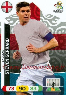 Panini Euro 2012 Cards Adrenalyn XL - N° 054 - Steven GERRARD (Angleterre)