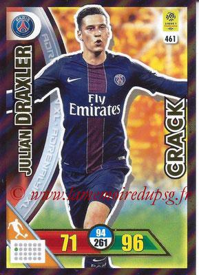 2017-18 - Panini Adrenalyn XL Ligue 1 - N° 461 - Julian DRAXLER (Paris Saint-Germain) (Crack)