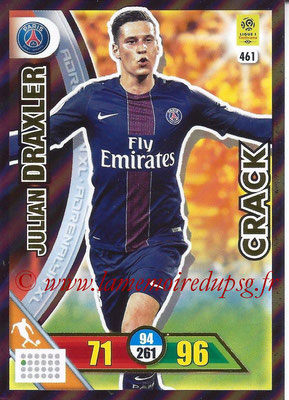 2017-18 - Panini Adrenalyn XL Ligue 1 - N° 461 - Julian DRAXLER (Paris Saint-Germain) (Crack)