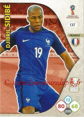 2018 - Panini FIFA World Cup Russia Adrenalyn XL - N° 137 - Djibril SIDIBE (France)