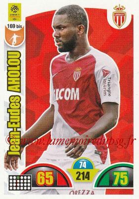 2018-19 - Panini Adrenalyn XL Ligue 1 - N° 169 bis - Jean-Eudes AHOLOU (Monaco)