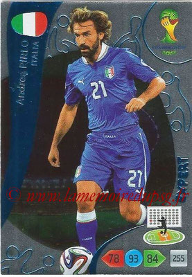2014 - Panini FIFA World Cup Brazil Adrenalyn XL - N° 383 - Andrea RIRLO (Italie) (Expert)