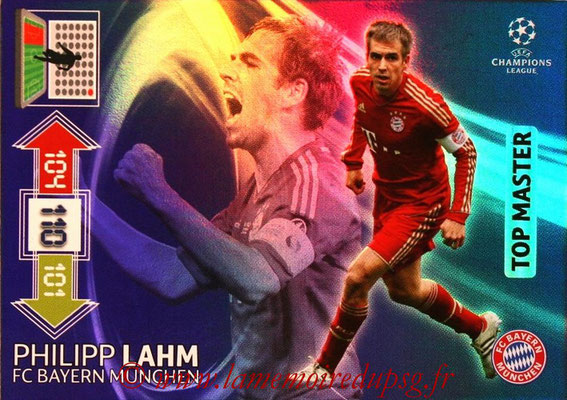 2012-13 - Adrenalyn XL champions League N° 348 - Philipp LAHM (FC Bayern Munich) (Top Master)