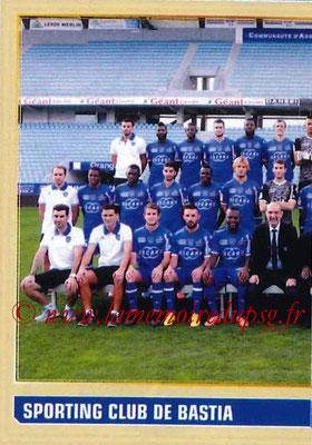 2014-15 - Panini Ligue 1 Stickers - N° 002 - Équipe SC Bastia