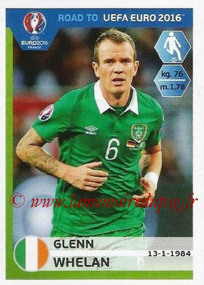 Panini Road to Euro 2016 Stickers - N° 153 - Glenn WHELAN (Eire)