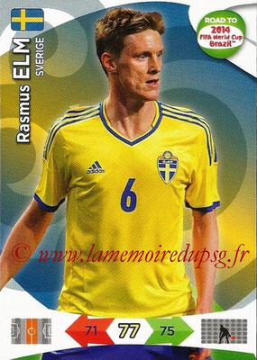 2014 - Panini Road to FIFA World Cup Brazil Adrenalyn XL - N° 171 - Rasmus ELM (Suède)