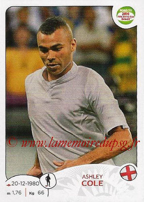 2014 - Panini Road to FIFA World Cup Brazil Stickers - N° 114 - Ashley COLE (Angleterre)