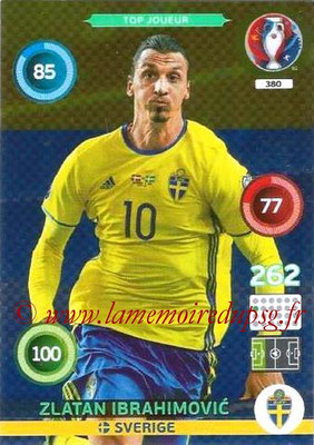 N° 380 - Zlatan IBRAHIMOVIC (2012-??, PSG > 2016, Suède) (Top Joueur)