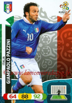 Panini Euro 2012 Cards Adrenalyn XL - N° 129 - Giampaolo PAZZINI (Italie)