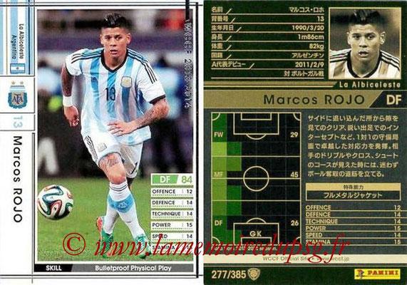 2013-14 - WCCF - N° 277 - Marcos ROJO (Argentine)