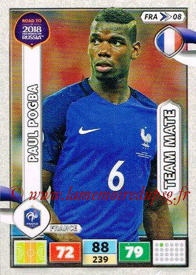 2018 - Panini Road to FIFA World Cup Russia Adrenalyn XL - N° FRA08 - Paul POGBA (France)