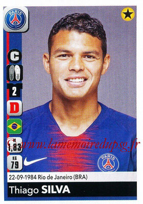 2018-19 - Panini Ligue 1 Stickers - N° 360 - Thiago SILVA (Paris Saint-Germain)