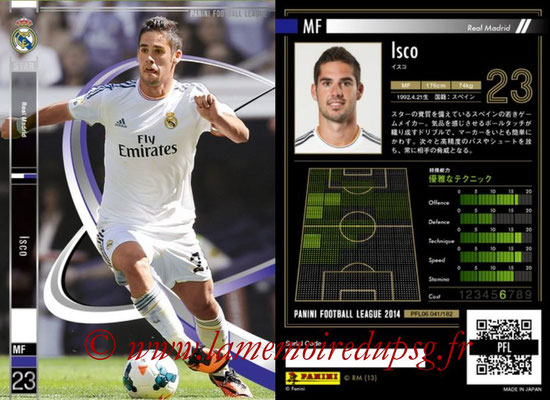 Panini Football League 2014 - PFL06 - N° 041 - ISCO (Real Madrid CF) (Star)