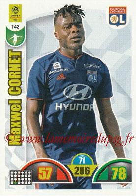 2018-19 - Panini Adrenalyn XL Ligue 1 - N° 142 - Maxwel CORNET (Lyon)
