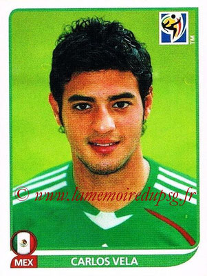 2010 - Panini FIFA World Cup South Africa Stickers - N° 065 - Carlos VELA (Méxique)
