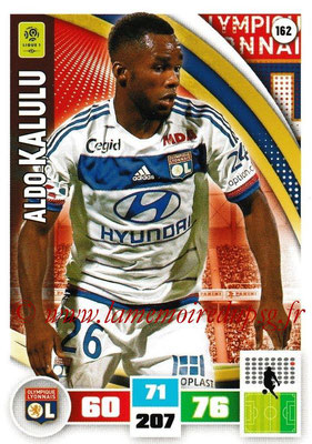 2016-17 - Panini Adrenalyn XL Ligue 1 - N° 162 - Aldo KALULU (Lyon)