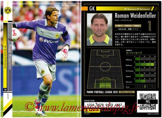 Panini Football League 2013 - PFL01 - N° 133 - Roman Weidenfeller ( BV Borussia 09 Dortmund )