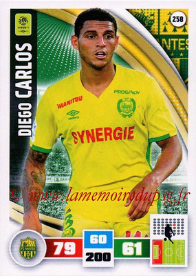 2016-17 - Panini Adrenalyn XL Ligue 1 - N° 258 - Diego CARLOS (Nantes)