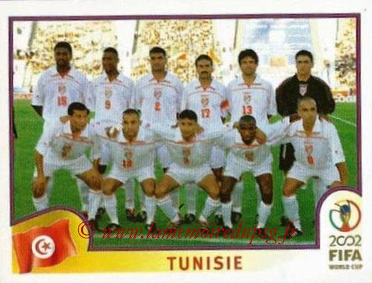 2002 - Panini FIFA World Cup Stickers - N° 570 - Equipe Tunisie