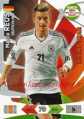 2014 - Panini Road to FIFA World Cup Brazil Adrenalyn XL - N° 058 - Marco REUS (Allemagne) (Rising Star)
