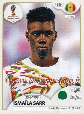 2018 - Panini FIFA World Cup Russia Stickers - N° 630 - Ismaïla SARR (Senegal)