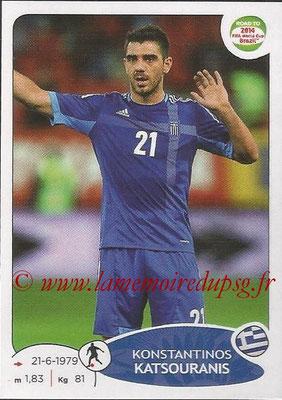 2014 - Panini Road to FIFA World Cup Brazil Stickers - N° 278 - Konstantinos KATSOURANIS (Grèce)