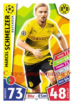 2017-18 - Topps UEFA Champions League Match Attax - N° 097 - Marcel SCHMELZER (Borussia Dortmund)