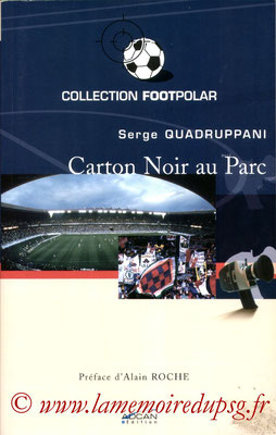 2003-02-xx - Carton noir au Parc (Adcan Edition,146 pages)