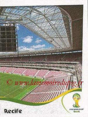 2014 - Panini FIFA World Cup Brazil Stickers - N° 025 - Arena Pernambuco - Recife (2)