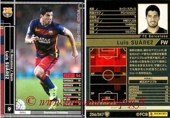 2015-16 - Panini WCCF - N° 256 - Luis SUAREZ (FC Barcelone)