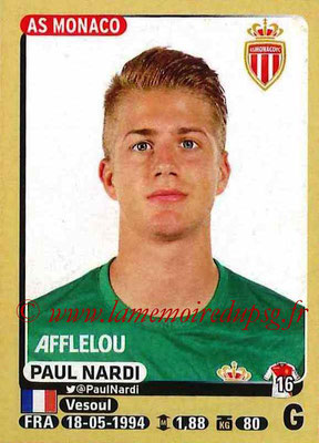 2015-16 - Panini Ligue 1 Stickers - N° 242 - Paul NARDI (AS Monaco)