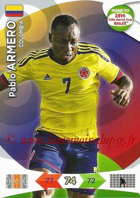 2014 - Panini Road to FIFA World Cup Brazil Adrenalyn XL - N° 032 - Pablo ARMERO (Colombie)