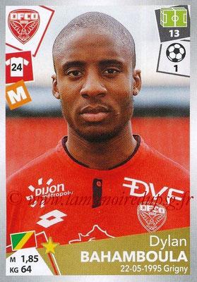 2017-18 - Panini Ligue 1 Stickers - N° 115 - Dylan BAHAMBOULA (Dijon)