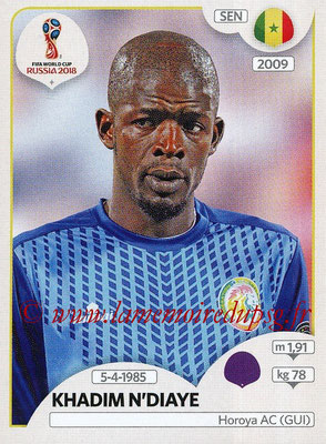 2018 - Panini FIFA World Cup Russia Stickers - N° 614 - Khadim N'DIAYE (Senegal)