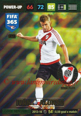 2016-17 - Panini Adrenalyn XL FIFA 365 - N° 370 - Ivan ALONSO (River Plate) (Goal Machine)
