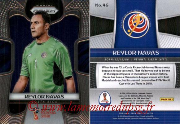 2018 - Panini Prizm FIFA World Cup Russia - N° 046 - Keylor NAVAS (Costa Rica)