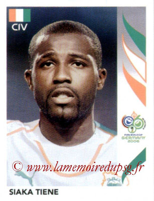 N° 200 - Siaka TIENE (2006, Cote d'Ivoire > 2010-13, PSG)