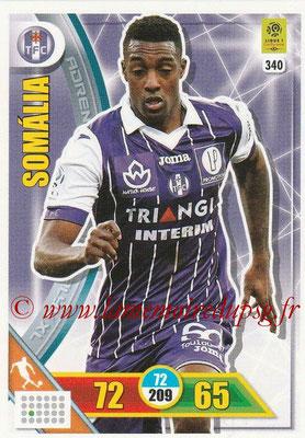 2017-18 - Panini Adrenalyn XL Ligue 1 - N° 340 - SOMALIA (Toulouse)