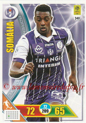 2017-18 - Panini Adrenalyn XL Ligue 1 - N° 340 - SOMALIA (Toulouse)